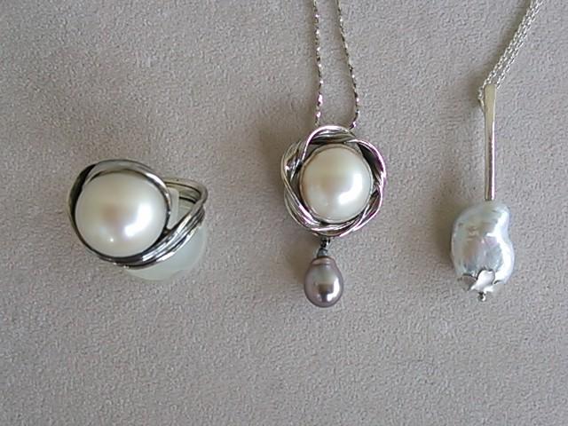真珠のいろいろ